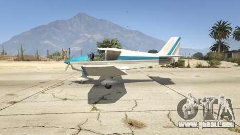 GTA 5 Robin DR-400 segunda captura de pantalla