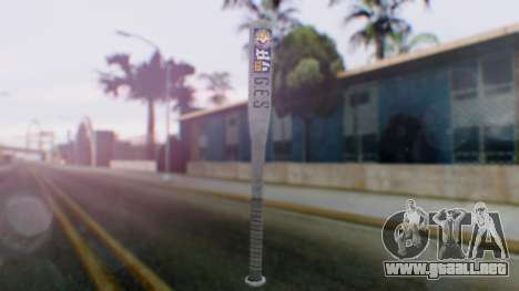 GTA 5 Bat - Misterix 4 Weapons para GTA San Andreas segunda pantalla