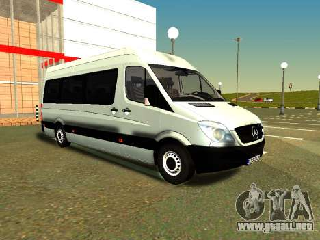 Mercedes-Benz Sprinter Long para GTA San Andreas