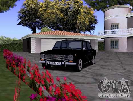 VAZ 2101 KBR para la visión correcta GTA San Andreas
