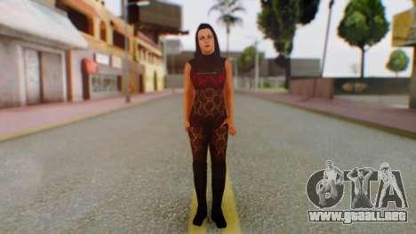 WWE Aksana para GTA San Andreas segunda pantalla