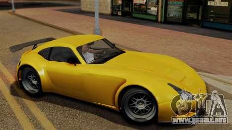 GTA 5 Bravado Verlierer para GTA San Andreas vista posterior izquierda