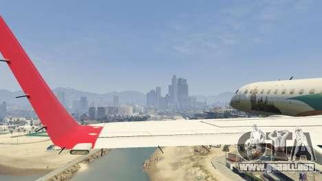 Embraer 195 Wind para GTA 5