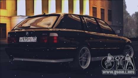 BMW M5 E34 Touring 1995 para GTA San Andreas left