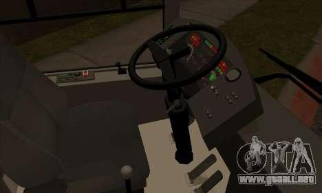 MAZ 206.000 para visión interna GTA San Andreas