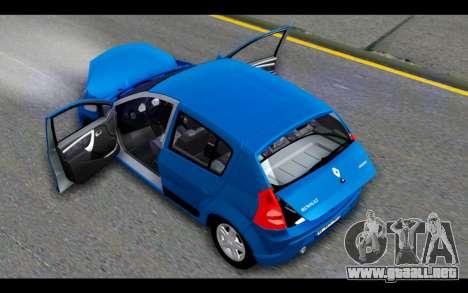 Renault Sandero para la vista superior GTA San Andreas