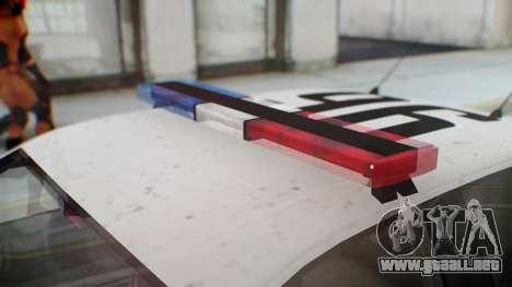 GTA 5 Vapid Stanier II Police para la visión correcta GTA San Andreas