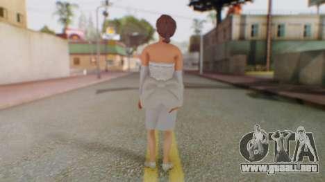 Miss Elizabeth para GTA San Andreas tercera pantalla