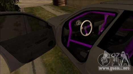 Lexus IS300 Drift para visión interna GTA San Andreas