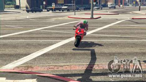 GTA 5 Ducati 1299 Panigale S v1.1 vista trasera