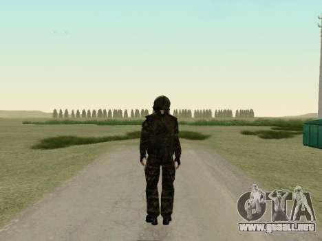 Soldados rusos en la máscara de gas para GTA San Andreas tercera pantalla