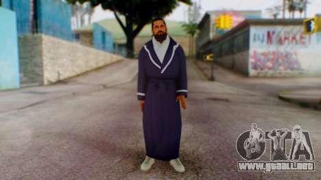 WWE Damien Sandow 1 para GTA San Andreas segunda pantalla
