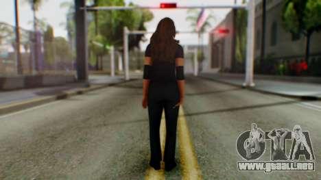 Stephani WWE para GTA San Andreas tercera pantalla