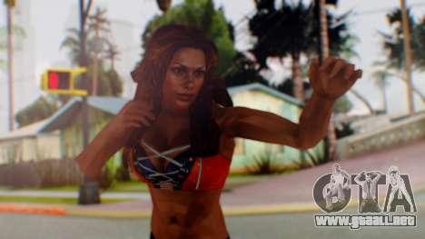 Micki James para GTA San Andreas