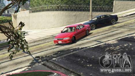 GTA 5 Toyota Mark II JZX100 Tunable vista trasera