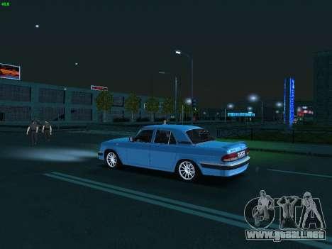 GAS 3110 Volga para visión interna GTA San Andreas