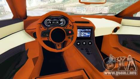 GTA 5 Jaguar C-X75 vista lateral trasera derecha