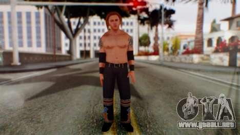 Heath Slater para GTA San Andreas segunda pantalla