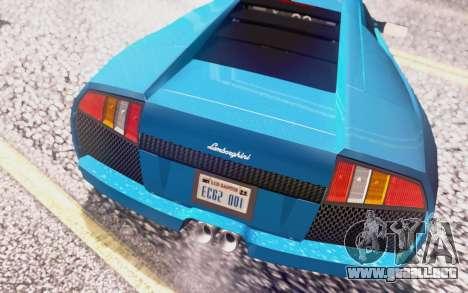 Lamborghini Murcielago 2005 para el motor de GTA San Andreas