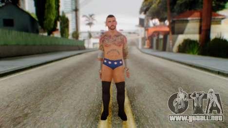 CM Punk 2 para GTA San Andreas segunda pantalla