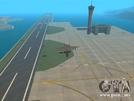 El MiG 25 para visión interna GTA San Andreas