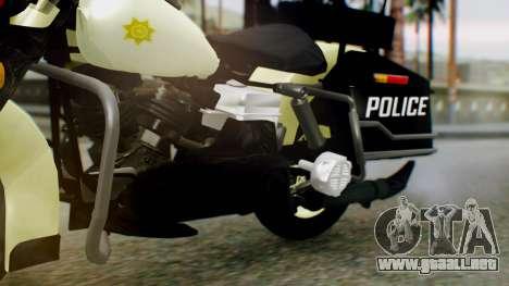 New Police Bike para la visión correcta GTA San Andreas