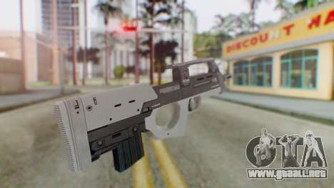 GTA 5 Assault SMG - Misterix 4 Weapons para GTA San Andreas segunda pantalla