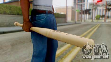 Vice City Baseball Bat para GTA San Andreas