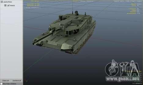 GTA 5 K2 Black Panther vista desde arriba