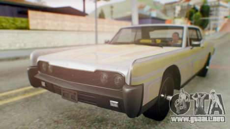 GTA 5 Vapid Chino Tunable para vista lateral GTA San Andreas