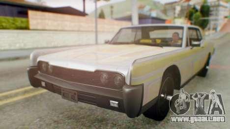 GTA 5 Vapid Chino Tunable para vista lateral GTA San Andreas