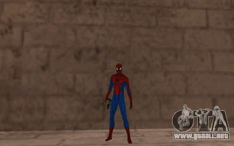 Amazing Spider-Man Comic Versión Robinosuke para GTA San Andreas tercera pantalla