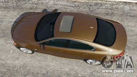 GTA 5 Jaguar XFR 2010 vista trasera