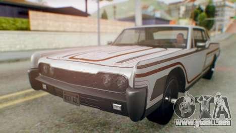 GTA 5 Vapid Chino Tunable para el motor de GTA San Andreas