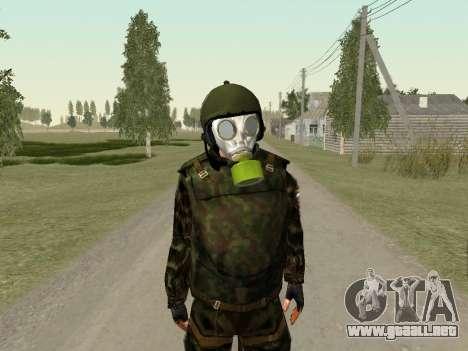 Soldados rusos en la máscara de gas para GTA San Andreas