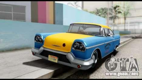 GTA 5 Declasse Cabbie v2 para la visión correcta GTA San Andreas