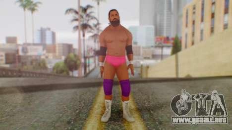 WWE Damien Sandow 2 para GTA San Andreas segunda pantalla