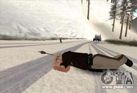 Tiro con arco para GTA San Andreas sucesivamente de pantalla