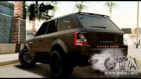 Range Rover Sport 2012 para GTA San Andreas left