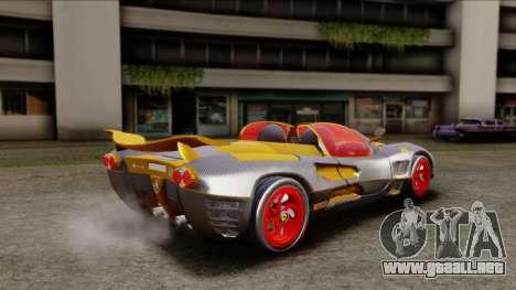 Ferrari P7 Carbon para GTA San Andreas left