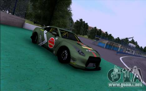 Nissan GT-R Liberty Walk Robbie Nishida para GTA San Andreas