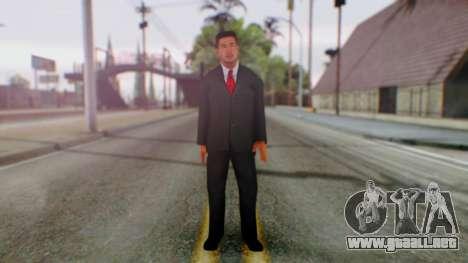 Justin Roberts para GTA San Andreas segunda pantalla