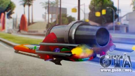 Flying Hovercraft New Skin para GTA San Andreas left