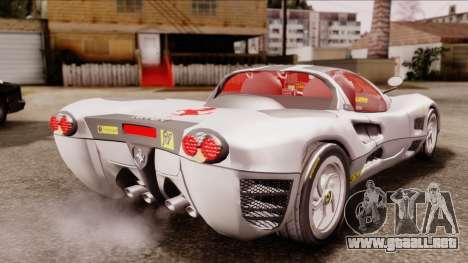Ferrari P7 Horse para GTA San Andreas left