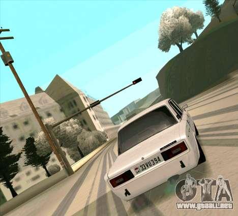 VAZ 2106 [ARM] para la visión correcta GTA San Andreas