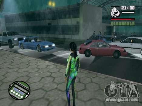 Christie Doa Changed v1.0 para GTA San Andreas segunda pantalla