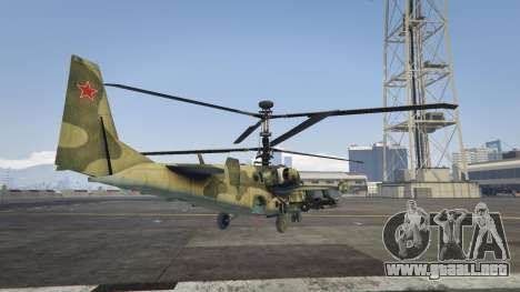 GTA 5 Ka-52 Alligator tercera captura de pantalla