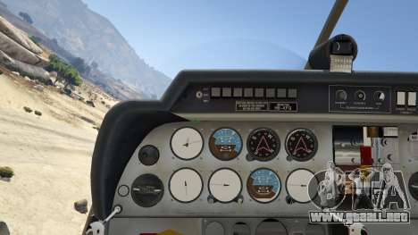 GTA 5 Robin DR-400 cuarto captura de pantalla