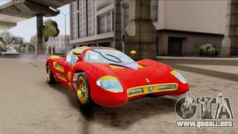 Ferrari P7-2 Iron Man para GTA San Andreas
