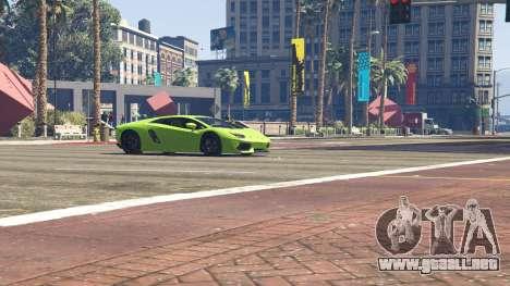 GTA 5 Lamborghini Aventador LP700-4 v.2.2 volante